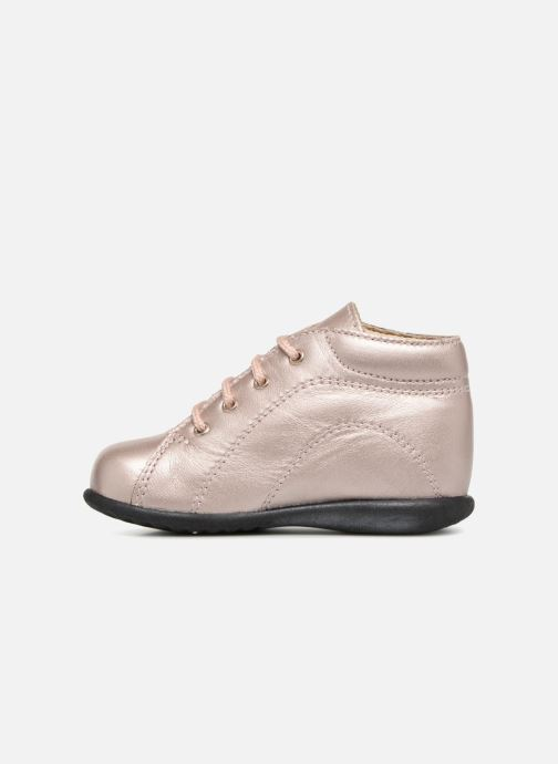 Ankelstøvler Bopy Zaboux Pink se forfra