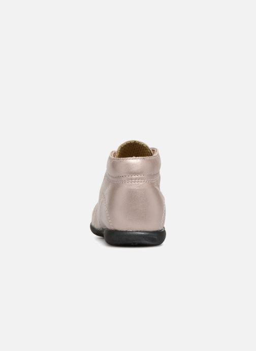 Bottines et boots Bopy Zaboux Rose vue droite