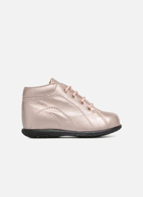 Ankle boots Bopy Zaboux Pink back view