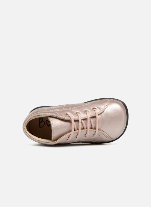 Ankelstøvler Bopy Zaboux Pink se fra venstre