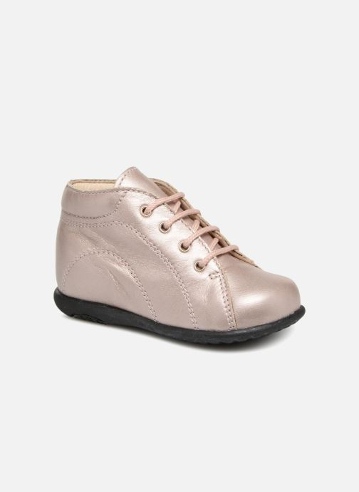 Ankle boots Bopy Zaboux Pink detailed view/ Pair view