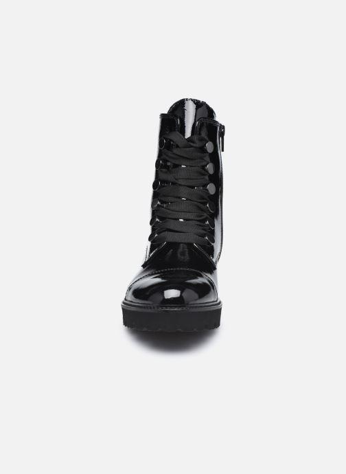Sandales et nu-pieds Gabor Louna Noir vue portées chaussures
