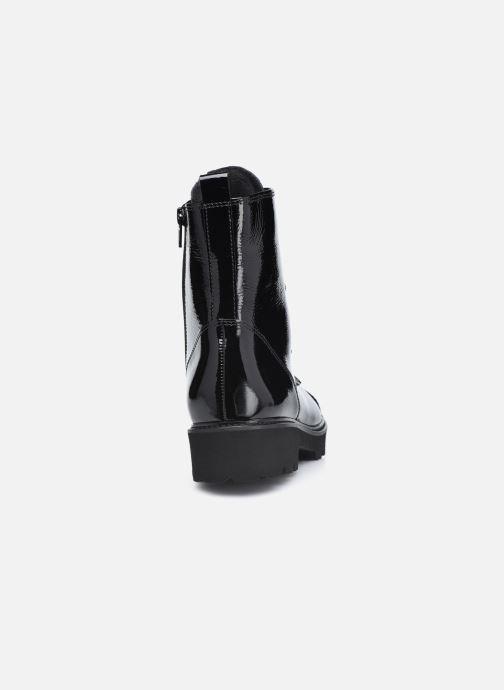 Sandales et nu-pieds Gabor Louna Noir vue droite