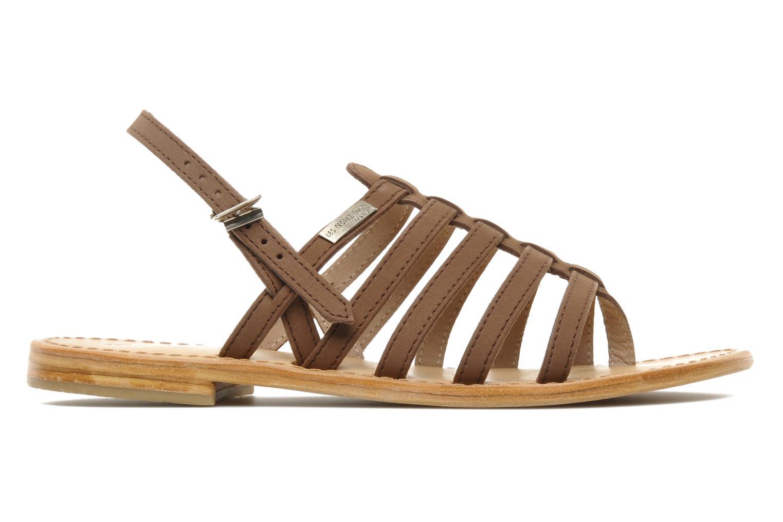 Sandales et nu-pieds Les Tropéziennes par M Belarbi Hook Marron vue derrière