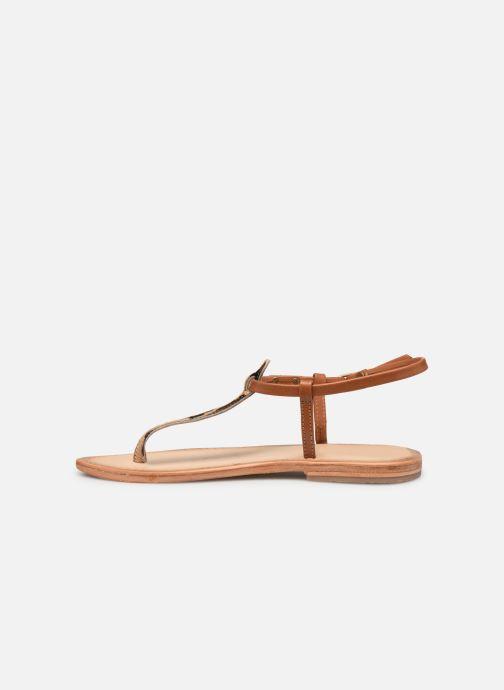 Sandales et nu-pieds Les Tropéziennes par M Belarbi Narvil Beige vue face