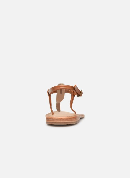 Sandales et nu-pieds Les Tropéziennes par M Belarbi Narvil Beige vue droite