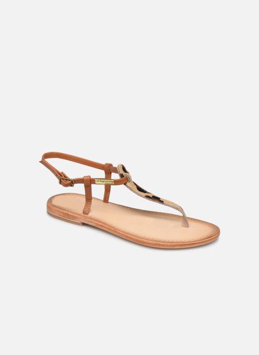 Sandales et nu-pieds Les Tropéziennes par M Belarbi Narvil Beige vue détail/paire