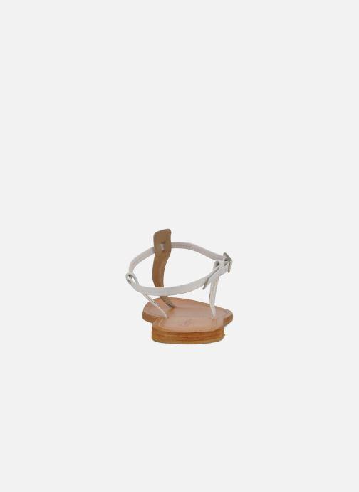 Sandales et nu-pieds Les Tropéziennes par M Belarbi Narvil Blanc vue droite