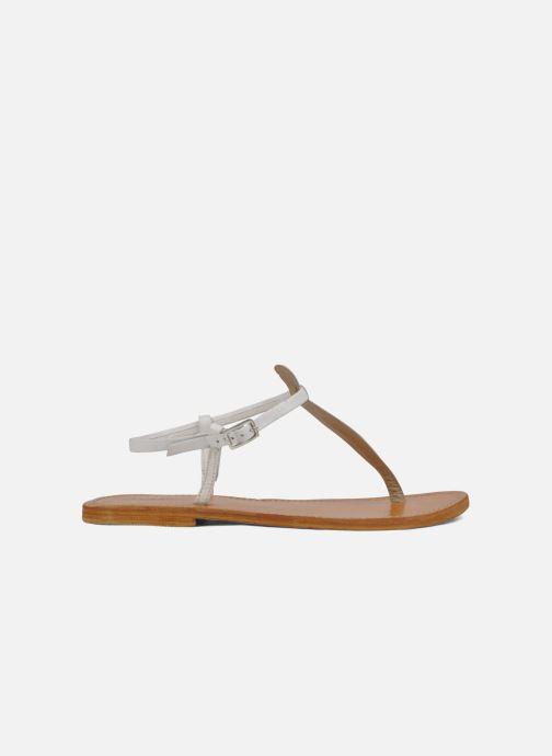 Sandali e scarpe aperte Les Tropéziennes par M Belarbi Narvil Bianco immagine posteriore