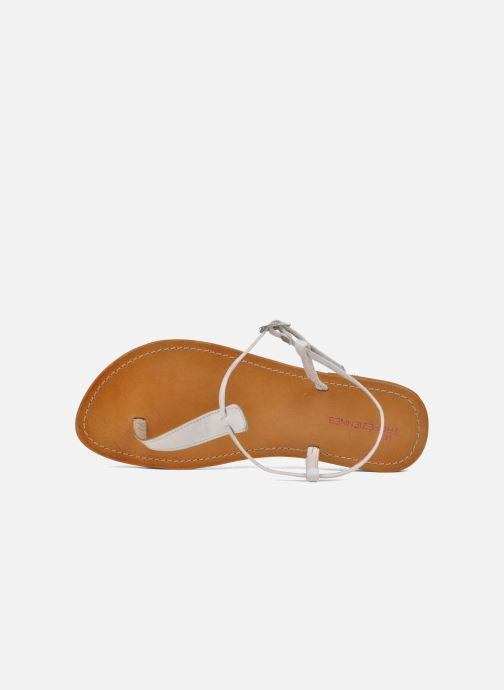 Sandales et nu-pieds Les Tropéziennes par M Belarbi Narvil Blanc vue gauche