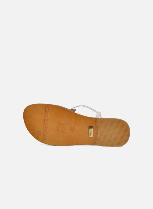 Sandales et nu-pieds Les Tropéziennes par M Belarbi Narvil Blanc vue haut