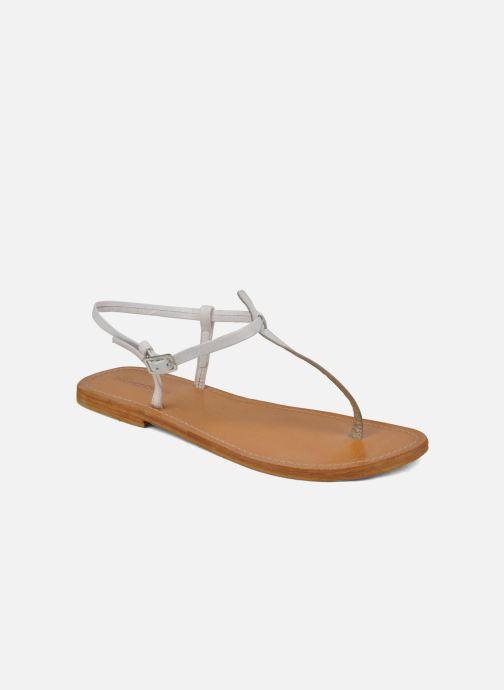 Sandales et nu-pieds Les Tropéziennes par M Belarbi Narvil Blanc vue détail/paire