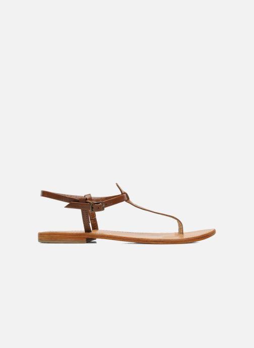 Sandales et nu-pieds Les Tropéziennes par M Belarbi Narvil Marron vue derrière