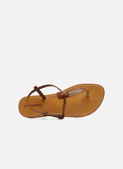 Sandales et nu-pieds Les Tropéziennes par M Belarbi Narvil Marron vue gauche
