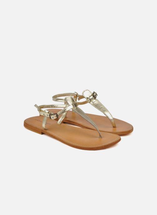 Sandales et nu-pieds Les Tropéziennes par M Belarbi Narvil Or et bronze vue 3/4