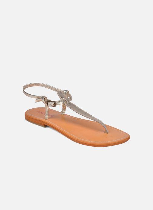 Sandales et nu-pieds Les Tropéziennes par M Belarbi Narvil Or et bronze vue détail/paire