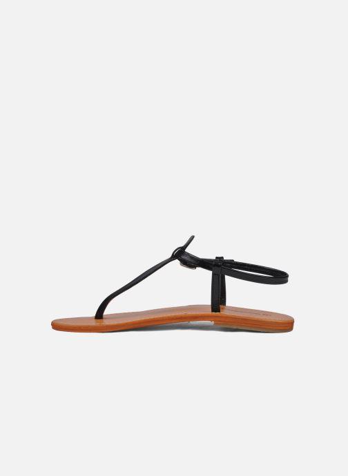 Sandales et nu-pieds Les Tropéziennes par M Belarbi Narvil Noir vue face