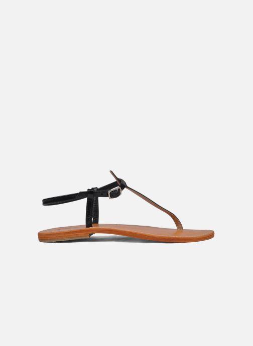 Sandales et nu-pieds Les Tropéziennes par M Belarbi Narvil Noir vue derrière