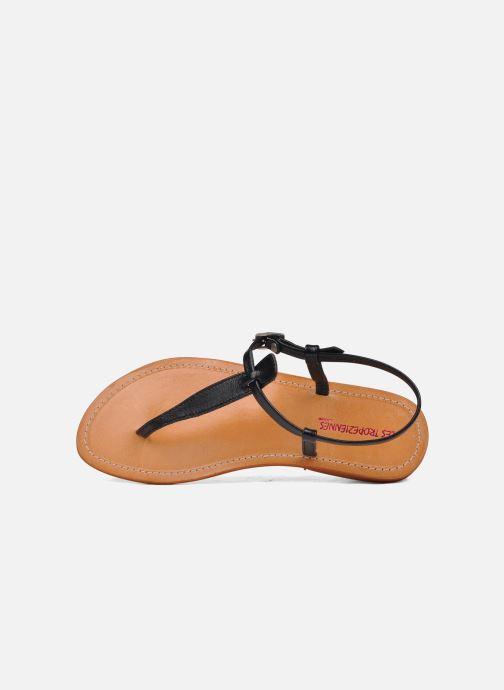 Sandales et nu-pieds Les Tropéziennes par M Belarbi Narvil Noir vue gauche
