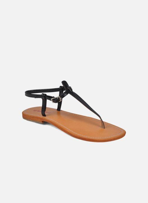 Sandaler Les Tropéziennes par M Belarbi Narvil Sort detaljeret billede af skoene