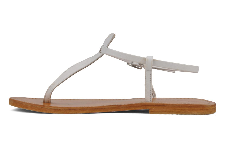 Sandales et nu-pieds Les Tropéziennes par M Belarbi Narvil Blanc vue face