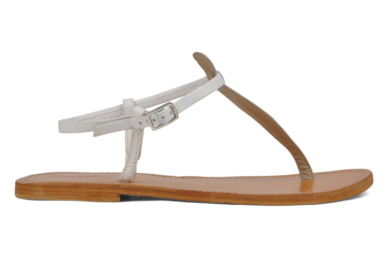 Sandales et nu-pieds Les Tropéziennes par M Belarbi Narvil Blanc vue derrière