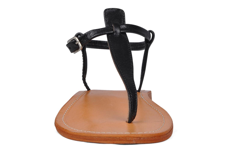 Sandales et nu-pieds Les Tropéziennes par M Belarbi Narvil Noir vue portées chaussures