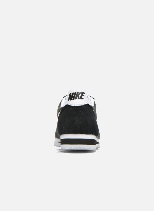 Deportivas Nike Wmns Classic Cortez Nylon Negro vista lateral derecha