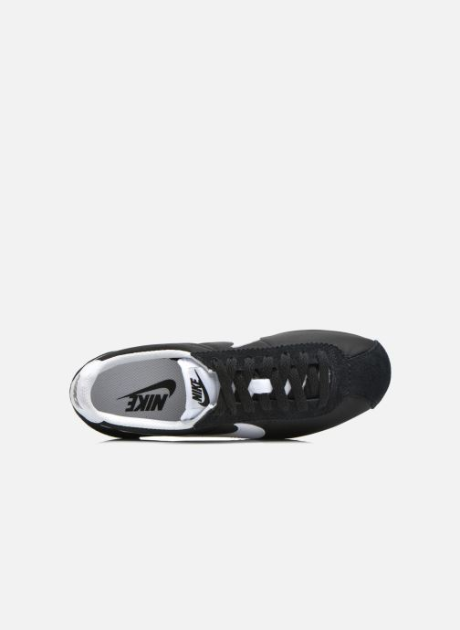 Deportivas Nike Wmns Classic Cortez Nylon Negro vista lateral izquierda