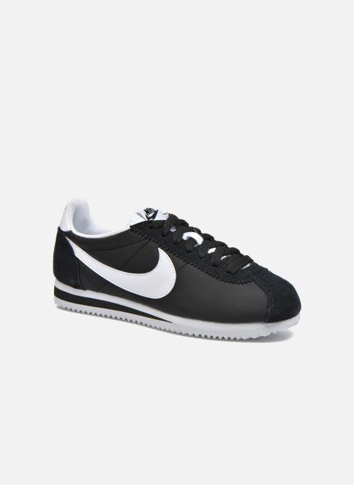 Deportivas Nike Wmns Classic Cortez Nylon Negro vista de detalle / par