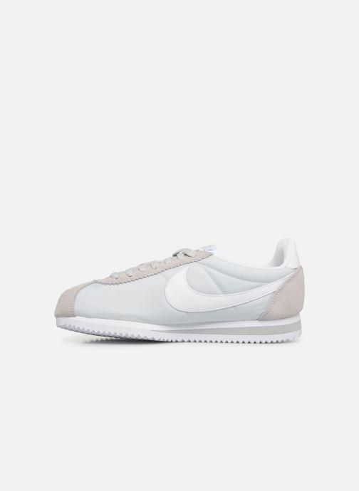 Sneakers Nike Wmns Classic Cortez Nylon Grigio immagine frontale