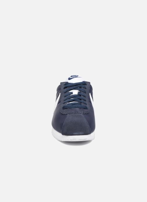 Deportivas Nike Wmns Classic Cortez Nylon Azul vista del modelo