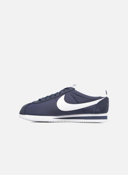 Deportivas Nike Wmns Classic Cortez Nylon Azul vista de frente