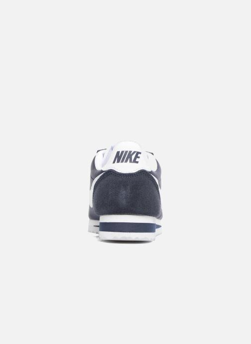 Deportivas Nike Wmns Classic Cortez Nylon Azul vista lateral derecha