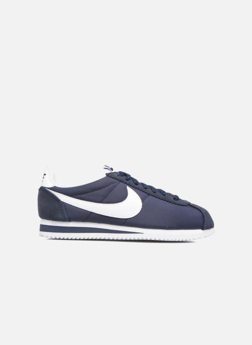 low priced c31fe 9081e Baskets Nike Wmns Classic Cortez Nylon Bleu vue derrière