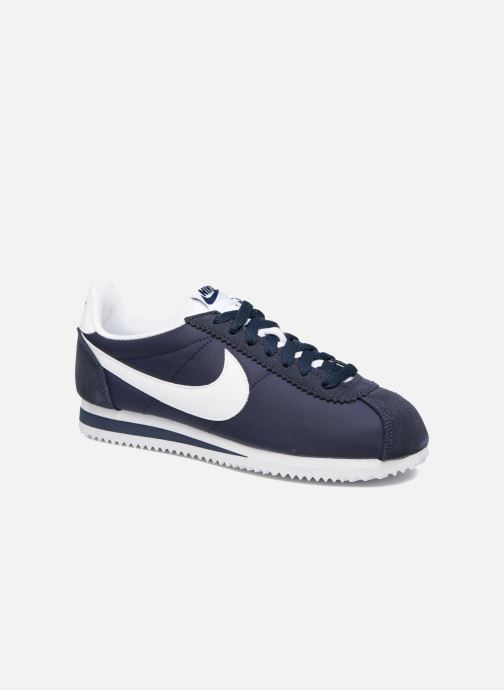 Trainers Nike Wmns Classic Cortez Nylon Blue detailed view/ Pair view
