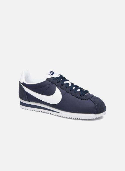Deportivas Nike Wmns Classic Cortez Nylon Azul vista de detalle / par