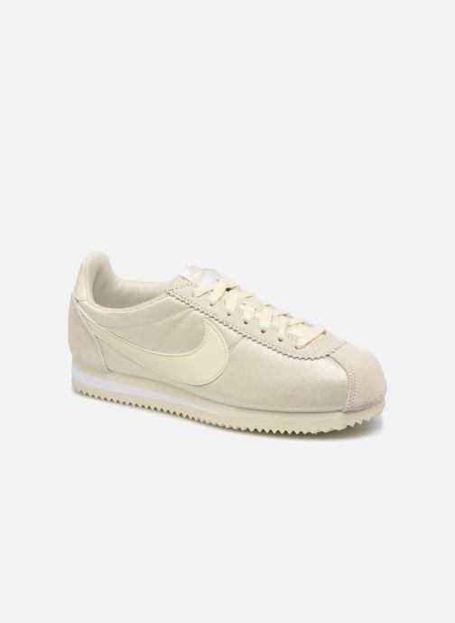 wholesale dealer 98818 9c6b4 Baskets Nike Wmns Classic Cortez Nylon Beige vue détail paire