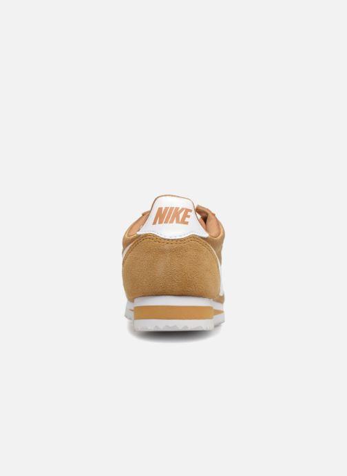 Baskets Nike Wmns Classic Cortez Nylon Or et bronze vue droite