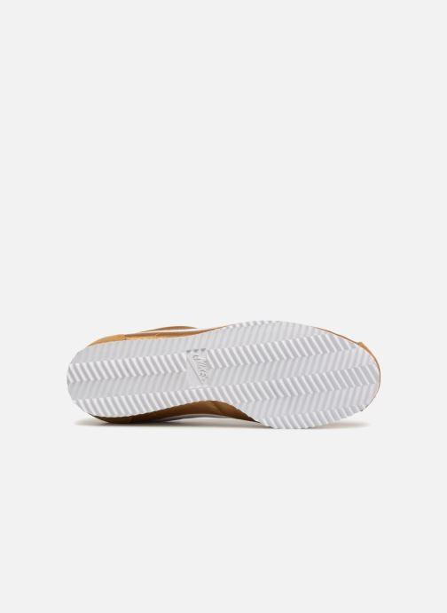 Baskets Nike Wmns Classic Cortez Nylon Or et bronze vue haut