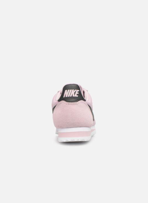 Deportivas Nike Wmns Classic Cortez Nylon Rosa vista lateral derecha