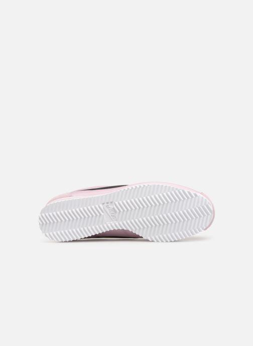 Baskets Nike Wmns Classic Cortez Nylon Rose vue haut