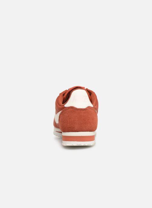 Baskets Nike Wmns Classic Cortez Nylon Rouge vue droite