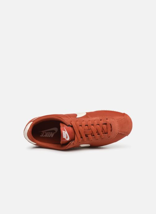 Trainers Nike Wmns Classic Cortez Nylon Red view from the left