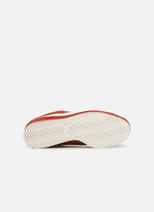 Trainers Nike Wmns Classic Cortez Nylon Red view from above