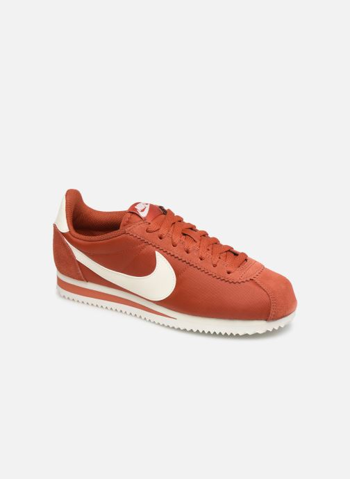Trainers Nike Wmns Classic Cortez Nylon Red detailed view/ Pair view