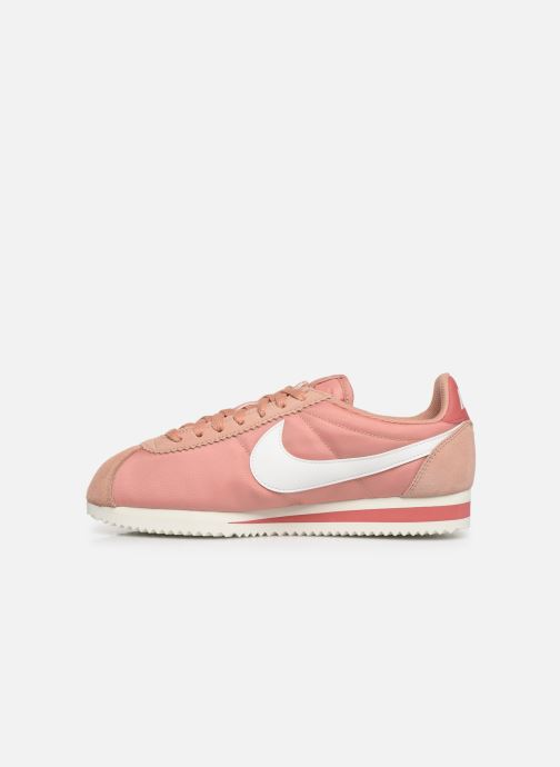 Baskets Nike Wmns Classic Cortez Nylon Rose vue face
