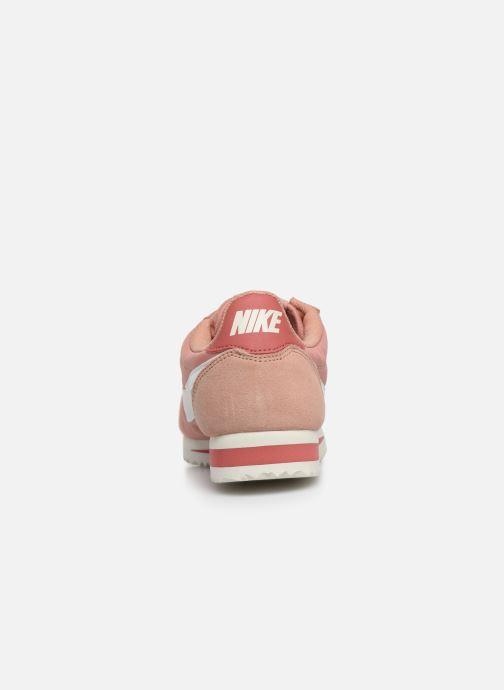 Baskets Nike Wmns Classic Cortez Nylon Rose vue droite
