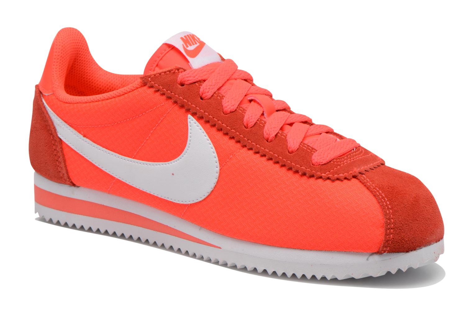 sneakers for cheap c9f48 1ee3a ... where can i buy baskets nike wmns classic cortez nylon orange vue  détail paire 053f6 80d0f