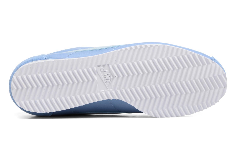 Sneaker Nike Wmns Classic Cortez Nylon blau ansicht von oben